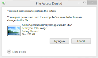 Contoh file yang tidak bisa dihapus
