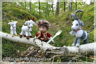 http://lalkacrochetka.blogspot.com/2016/10/the-three-billy-goats-gruff-and-troll.html