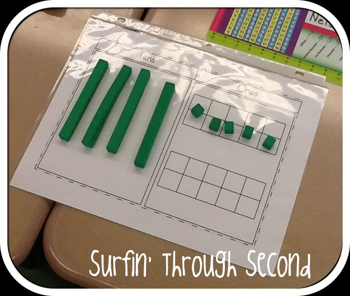 Number Names Worksheets regroup in addition : Double Digit Regrouping - Surfin' Through Second