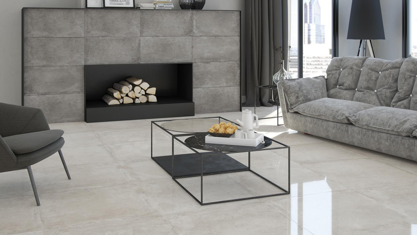 Home tiles design with friendlytile of Argenta Ceramica | Floor ...