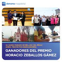 Premio Horacio 2016: Colegio María Parado de Bellido (Rímac)