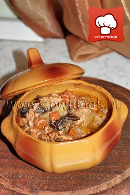 Рецепт - как приготовить вкусное жаркое жаренка (белорусская кухня)