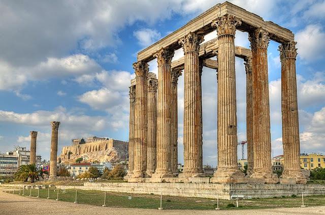 Olympieion: Temple of Olympian Zeus