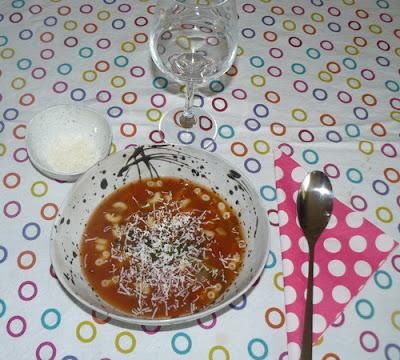 Recette mamangue de Minestrone soupe italienne