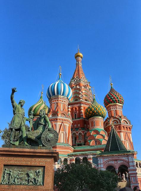 Catedral San Basilio Moscu Rusia