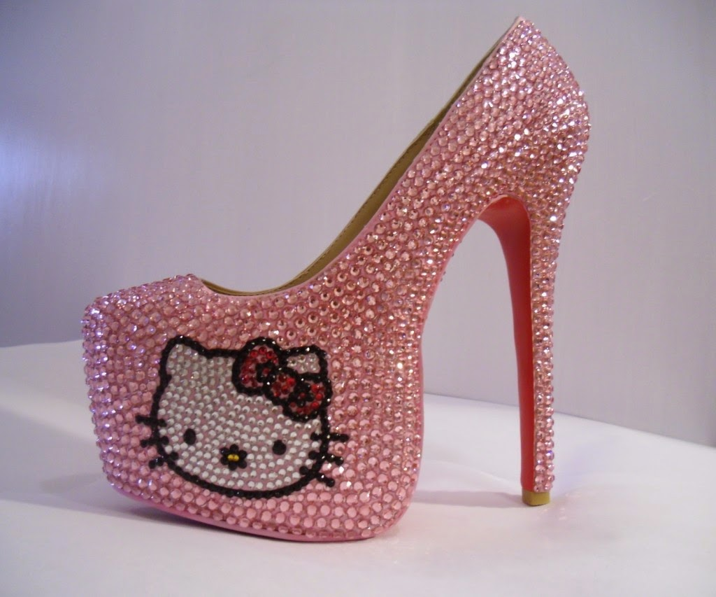 Cute Hello Kitty High Heels Shoes For Girls Calgary