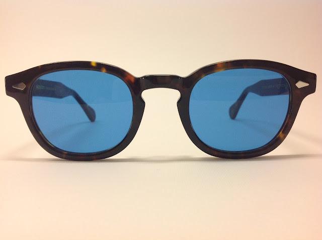 04ffee74f4 Moscot - Lemtosh tartarugato con lenti blu