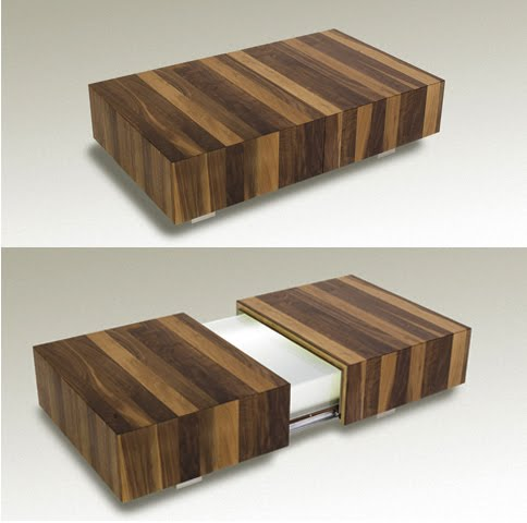 If It 39 S Hip It 39 S Here Archives Modern Matchbox Coffee Table By Schulte Design Conceals