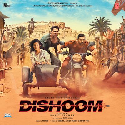 Dishoom-2016-Hindi-Cd-front-cover-Poster-wallpaper-HD