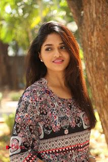 Actress Sunaina Latest Stills in Floral Dress at Pelliki Mundu Prema Katha Trailer Launch  0023.JPG