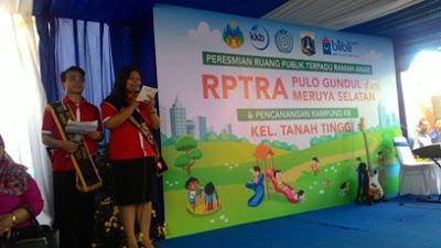 RPTRA - Wujud Kepedulian BliBli.com Terhadap Anak