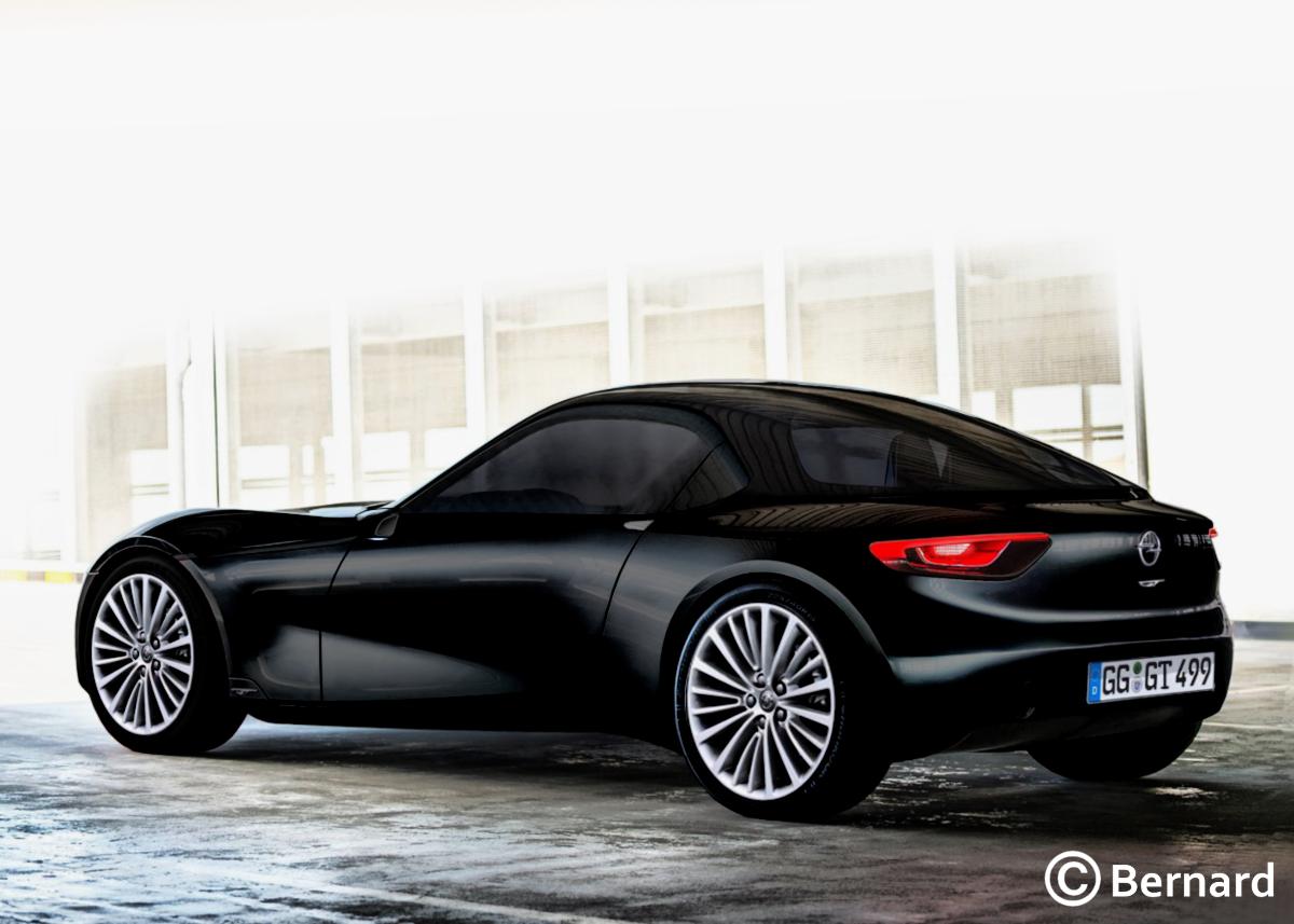 BERNARD CAR DESIGN: 2019 Opel GT