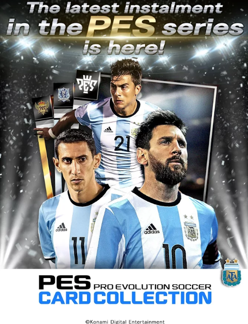 KONAMI launches new mobile game: PES CARD COLLECTION - Gaming News 24h