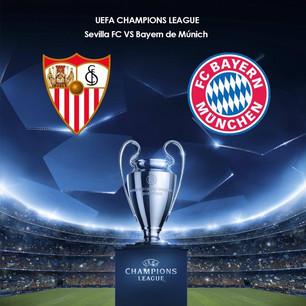 UEFA Champions League] SEVILLA FC - Bayern de Múnich 03/04/18 - 20 ...