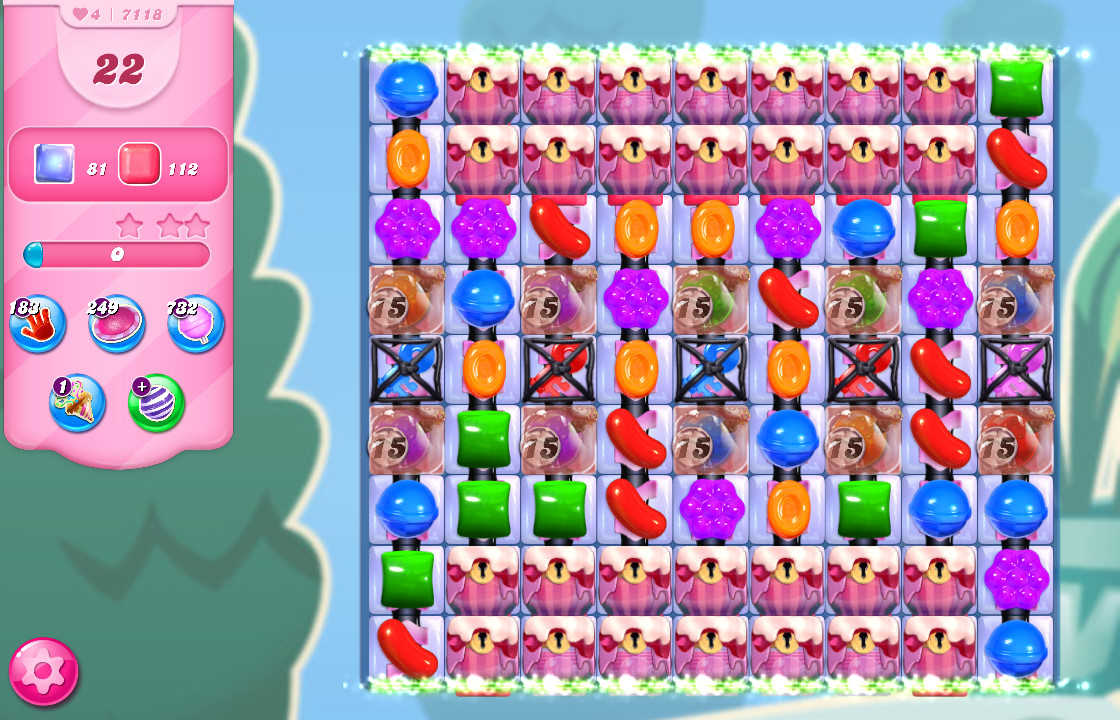 Candy Crush Saga level 7118