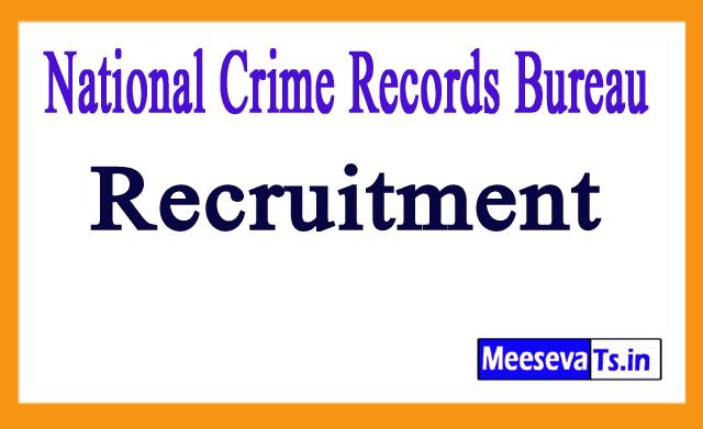 National Crime Records Bureau NCRB Recruitment Notification