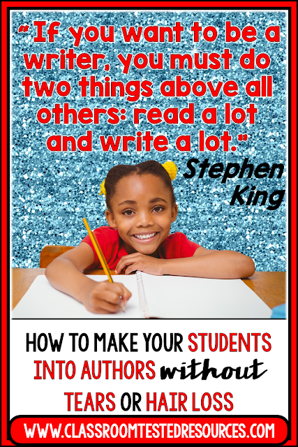Turn your students into authors without tears or hair loss using the Writing Fix mentor text lessons for creative and sound instruction.