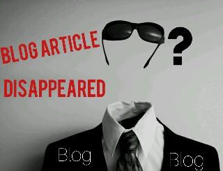 "Penyebab Artikel Blog Menghilang Dari ""SERP"""