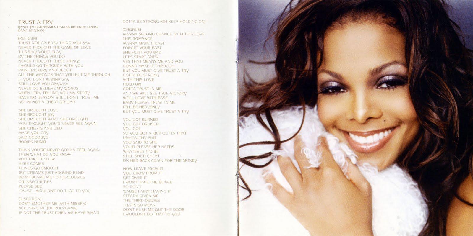 Encartes Pop: Encarte: Janet Jackson - All For You