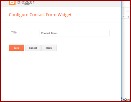 How to Create a Contact Page in Blogger | Blogger VJ