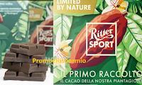 Logo Ritter Sport #IlPrimoRaccolto: vinci gratis 15 scatole da 3 pack ciascuno di Ritter Sport Limited Edition