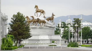 The horse is the president Turkmenbashis favorite animal