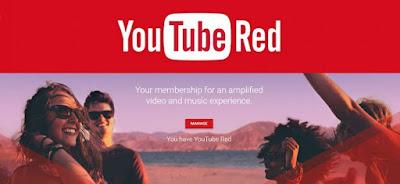 Débloquer Youtube Red hors des États-Unis