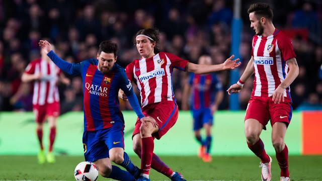 Prediksi Bola Atletico Madrid vs Barcelona Liga Spanyol