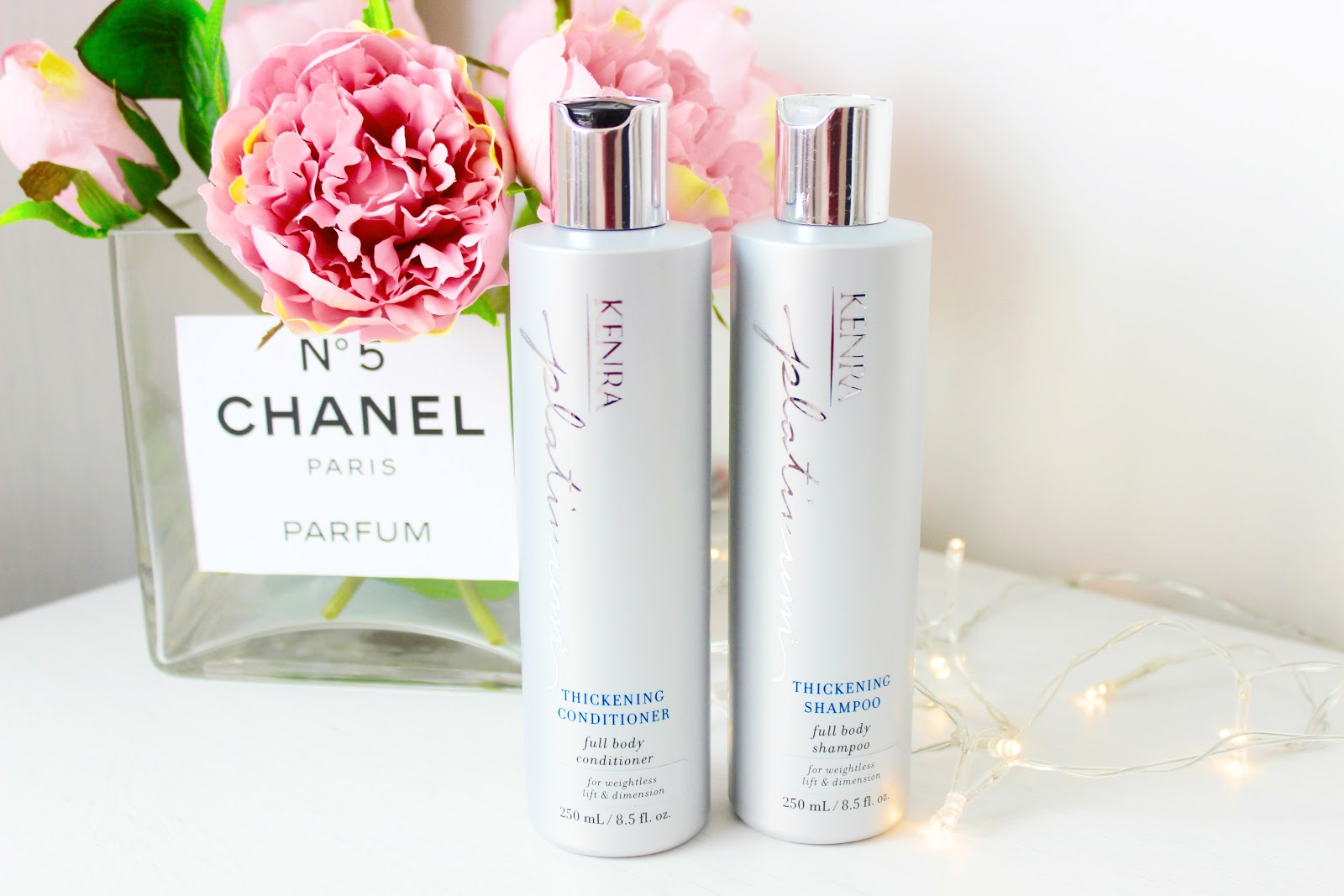 Kenra Haircare shampoo and conditioner