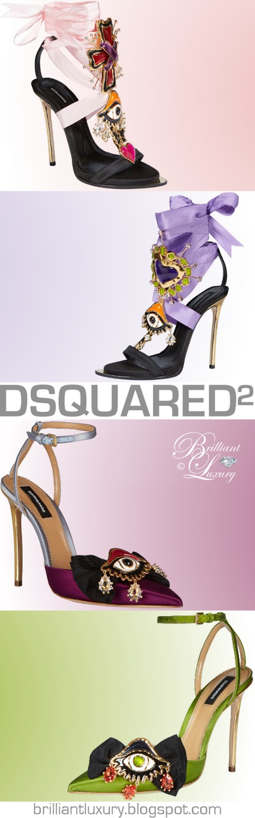 Brilliant Luxury ♦ Dsquared2 fabulous heels
