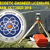 Geodetic Engineer Licensure Examination Results October 2016, List of Passers