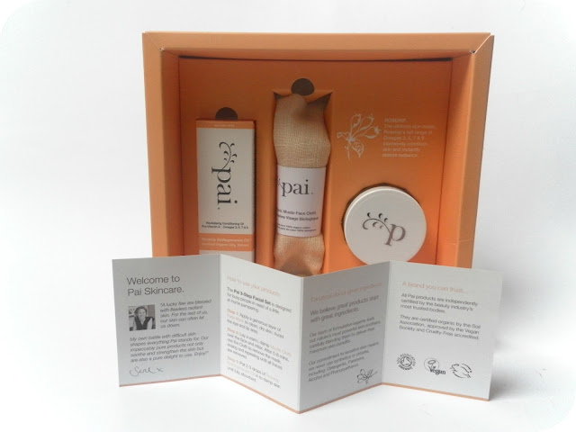 Pai Limited Edition Rosehip 3-Step Facial Set