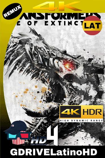 Transformers: La Era De La Extinción (2014) BDREMUX 2160P 4K HDR Latino-Español-Ingles MKV