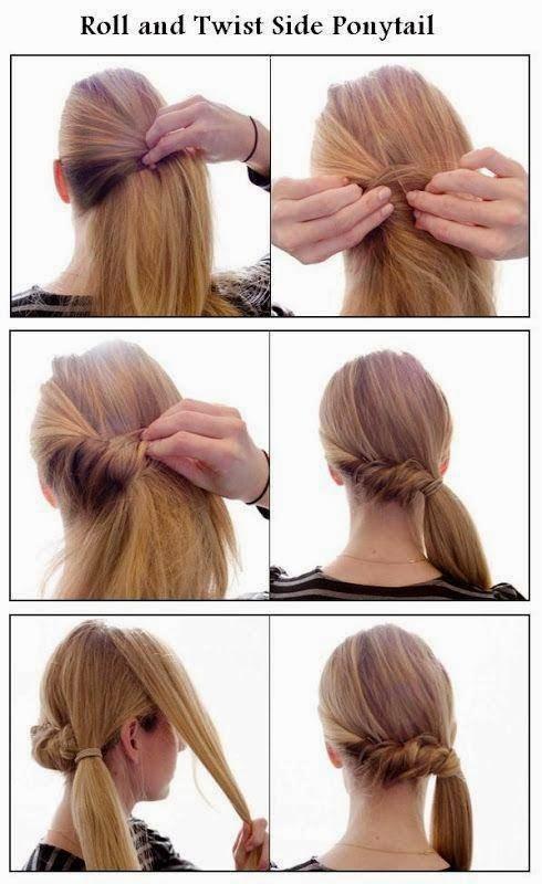Peinados cabello recogido faciles paso a paso