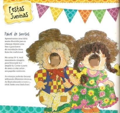 Molde Para Painel Dos Sorrisos Festa Junina Cantinho Do Educador