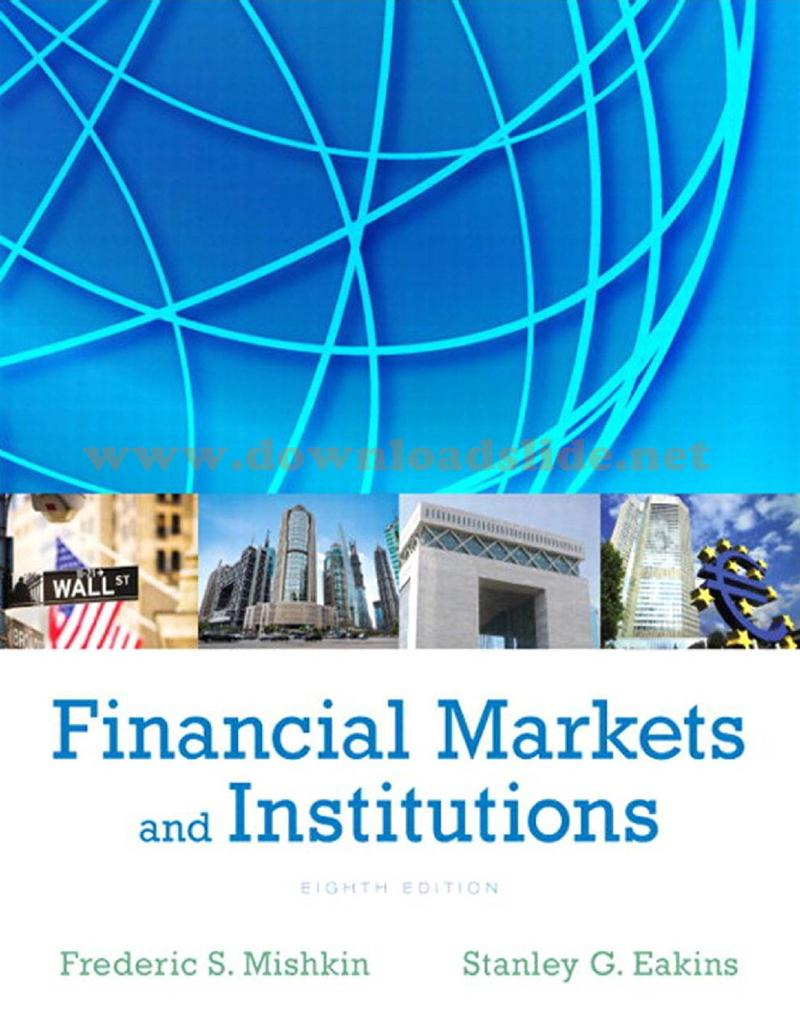 EBOOK / SOLUTION MANUAL / POWERPOINT / TEST BANK. Book Title. : Financial  Markets and Institutions