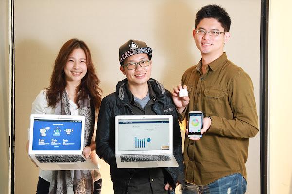 圖說:共同創辦人由左至右YH趙育萱、TY汪庭宇、Abner陳厚鈞,攝影:賀大新。