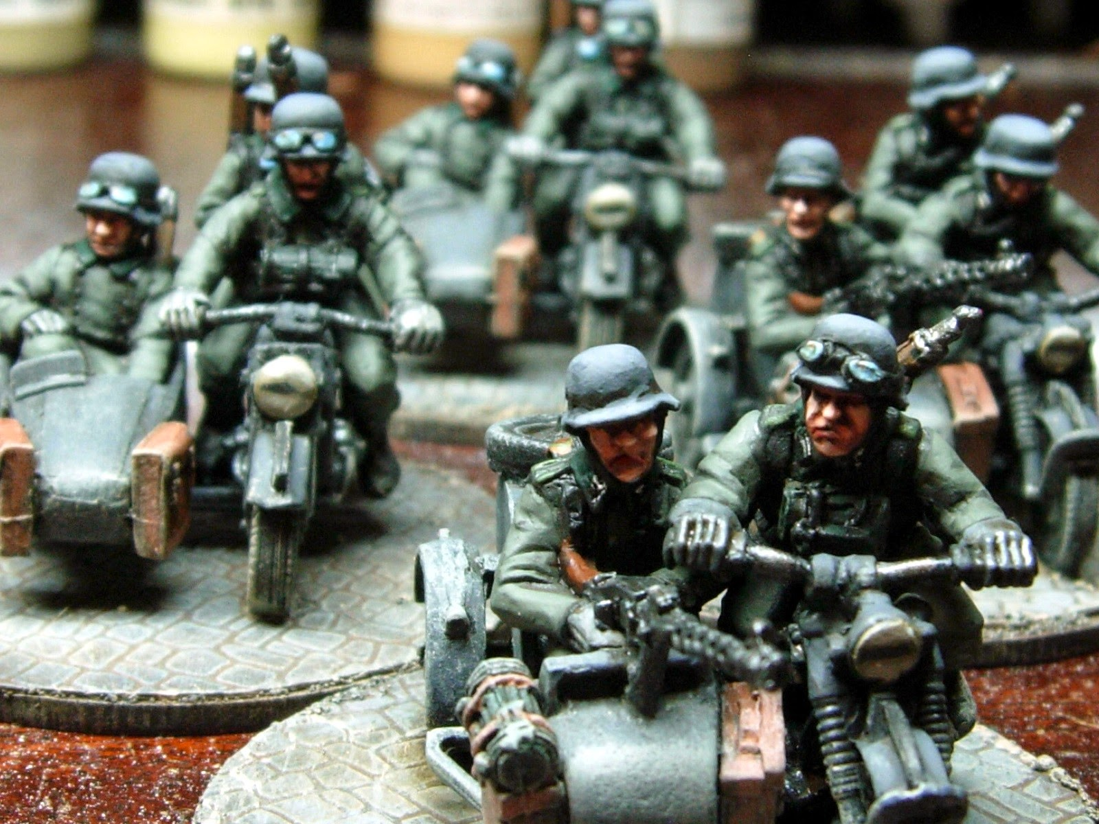 ww2 german motorcycles wargaming side cars room games plus whistle silver topic