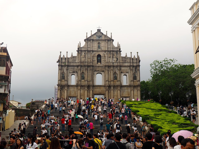 Ruins of St Paul, Macau