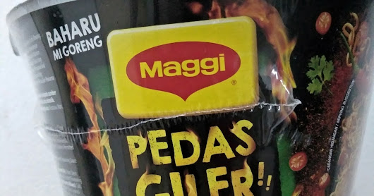 Craziness of MAGGI Pedas Giler: I Don't Want It Anymore.