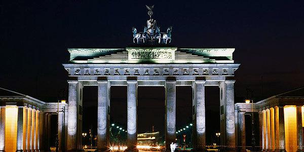 Бранденбургские ворота.
