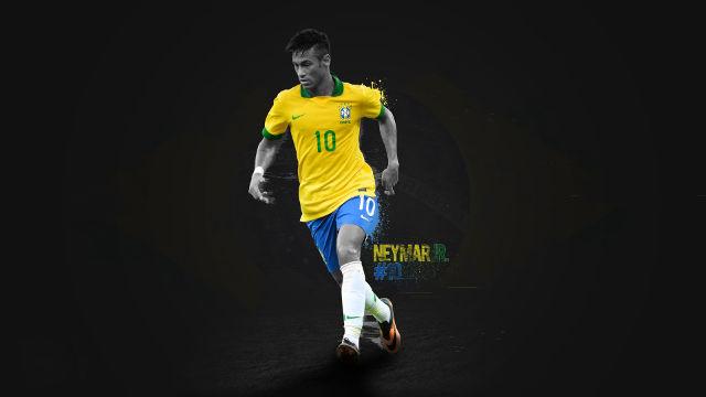 Neymar Numéro 10 Brésil - Fond d'écran en Ultra HD 4K