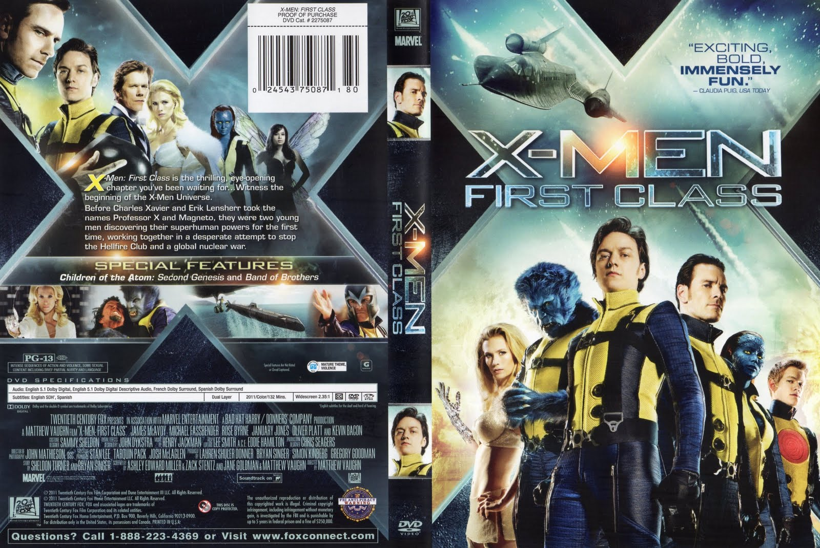 X Men Dvd Cover