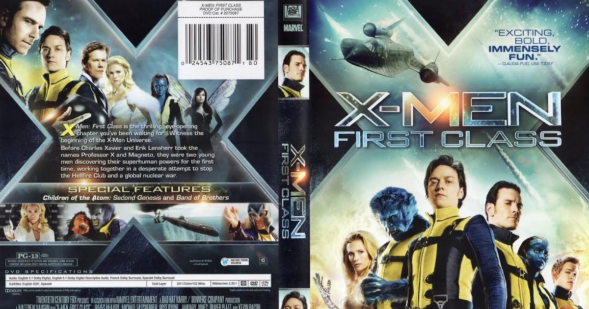 MovieScreenshots: X-Men: First Class (2011) DVD Cover X Men First Class Erik Kills