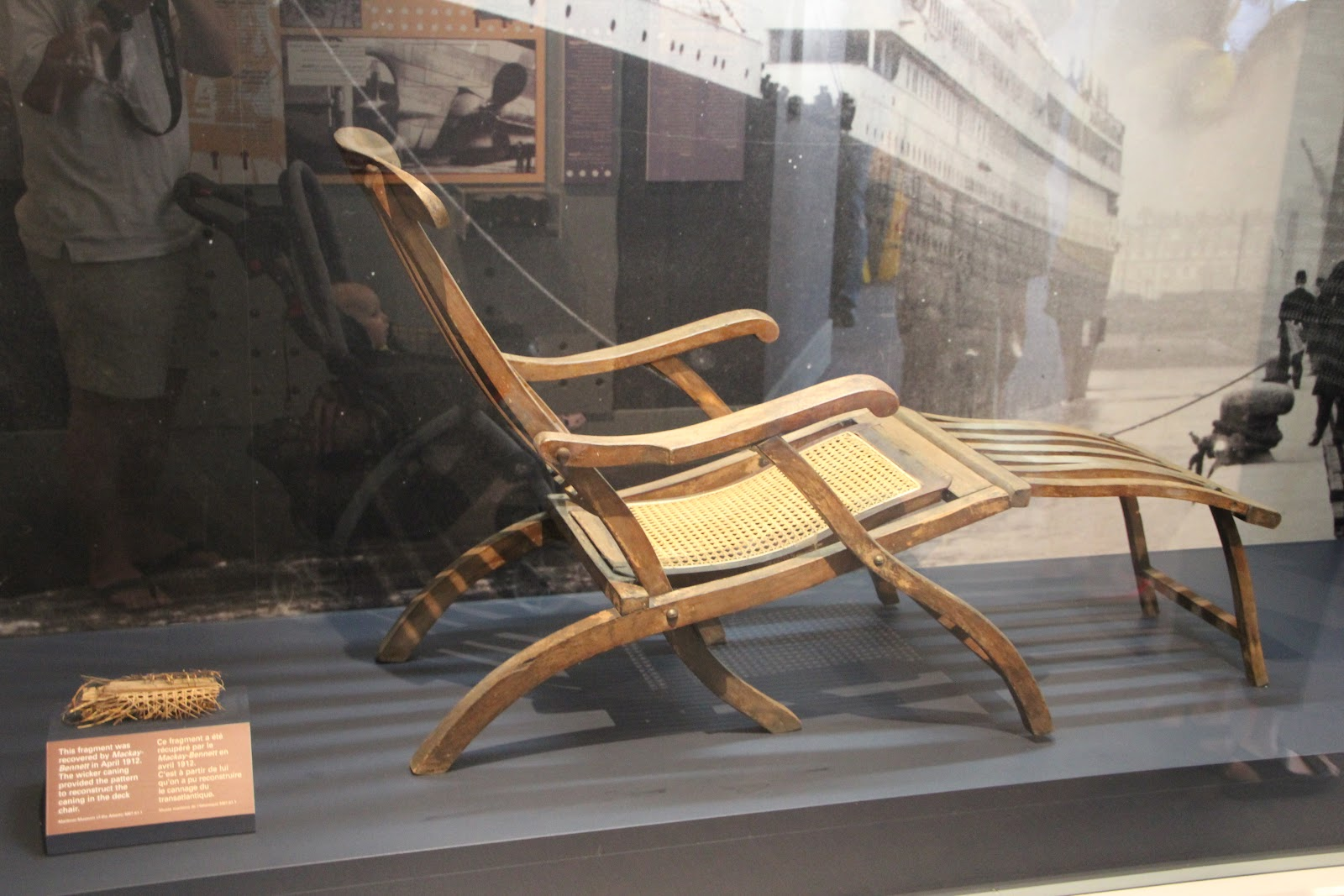 Titanic Deck Chair Rowe Tribe Halifax And The Titanic