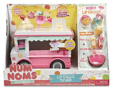 NUM NOMS - Camión Fábrica Brillo de Labios | Bandai caja juguete