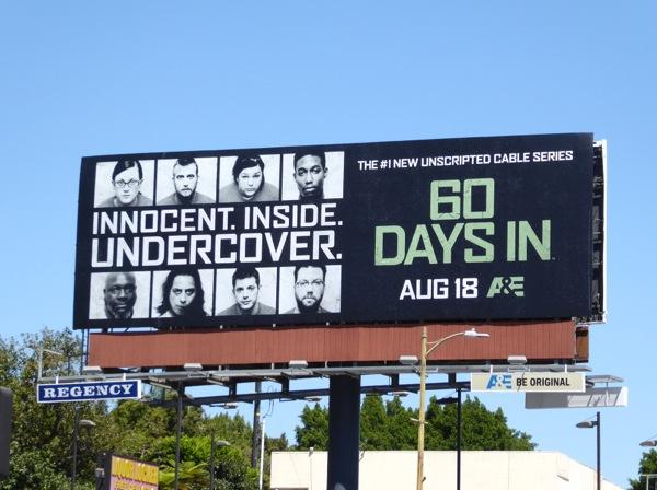 60 Days In series premiere billboard