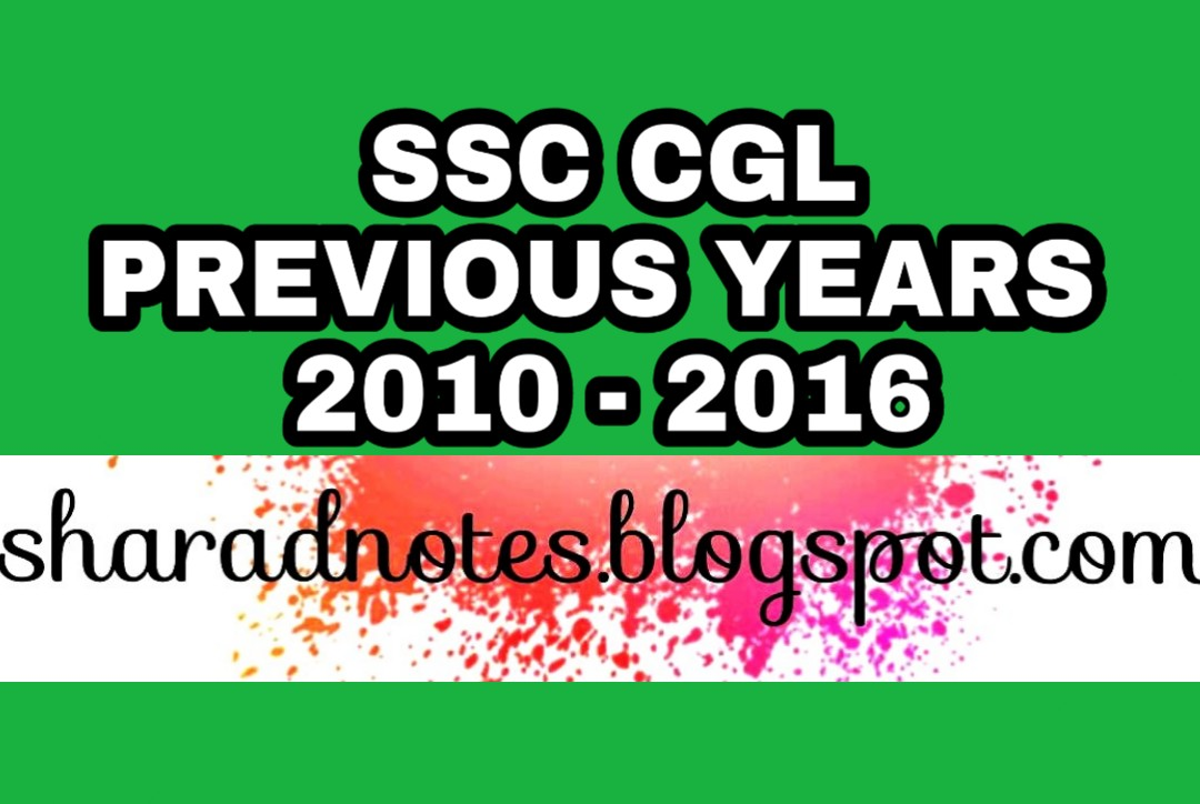 Ssc Cgl Tier 2 Previous Year Question Paper Pdf