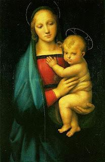 大公の聖母by僕、パラティーナ美術館