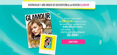 Consigue una suscripción gratuita a la revista glamour pocket